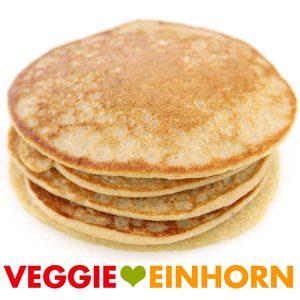Vegane Haferflocken Bananen Pfannkuchen | Einfache vegane Pancakes