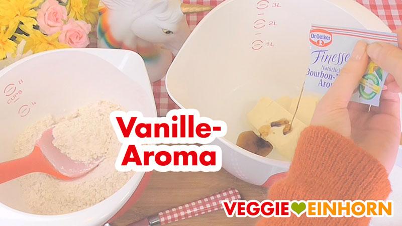 Vanille Aroma zufügen