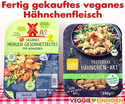 Veganes Hähnchen von Rügenwalder Mühle und Like Meat