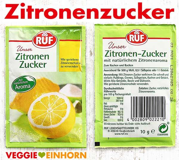 Zitronenzucker von RUF