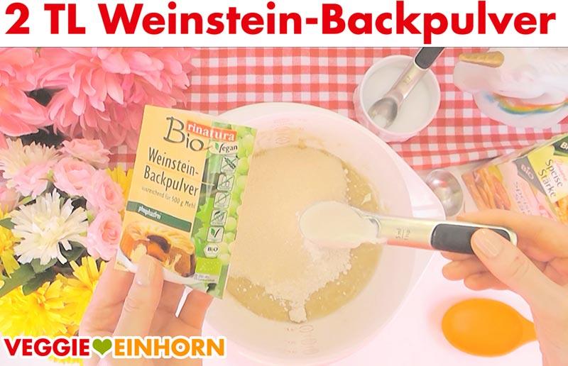 Saftiges veganes Bananenbrot | Einfaches Rezept | Schritt für Schritt Fotos | Weinsteinbackpulver