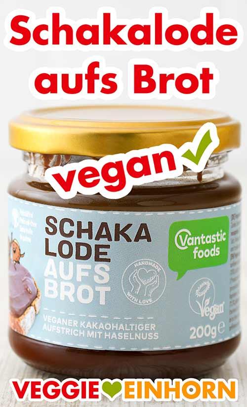 Ein Glas Schakalode Aufstrich von Vantastic Foods