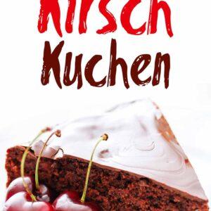 Schoko Kirsch Kuchen mit Glasur