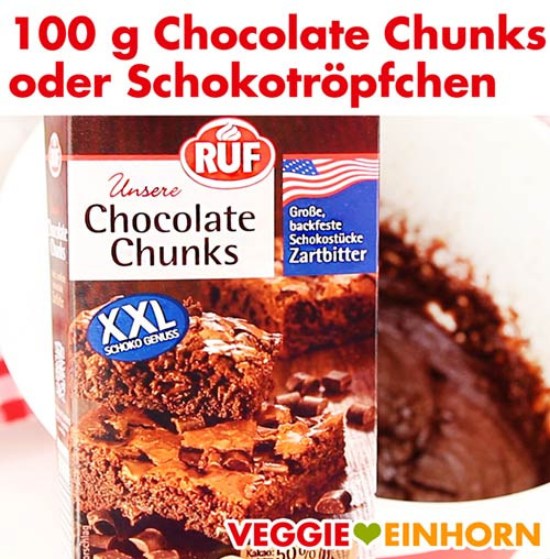 Schokolade für Brownies - Chocolate Chunks oder Schokotröpfchen