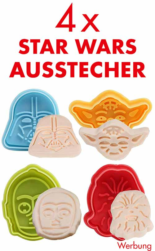 4 Star Wars Ausstechformen