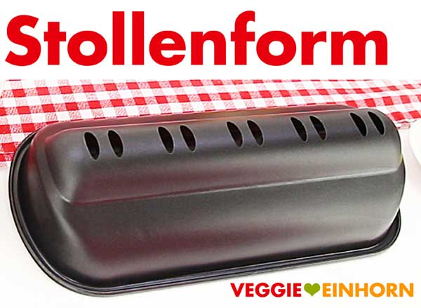 Stollenform zum Stollen backen