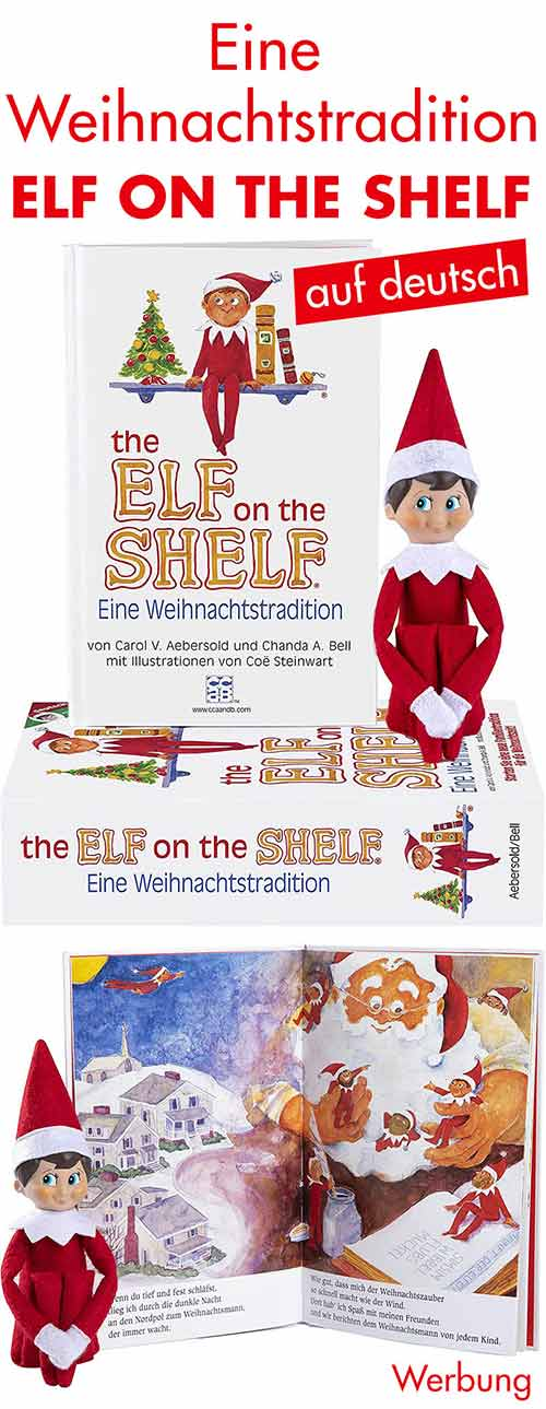 Deutsches Elf on The Shelf Buch und Figur