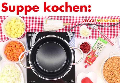 Türkische Rote Linsensuppe kochen