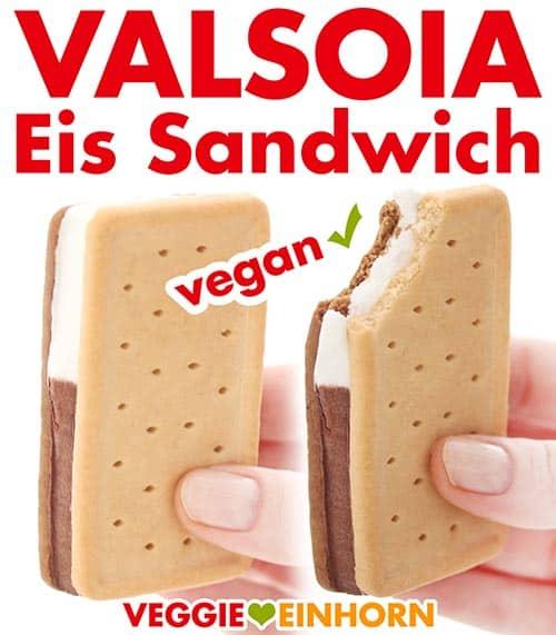 Eis Sandwiches von Valsoia