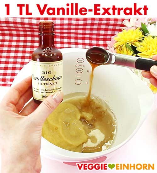 Vanille Extrakt für Zucchinibrot