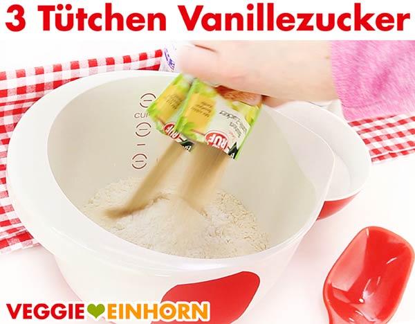 Vanillezucker für veganen Stollen