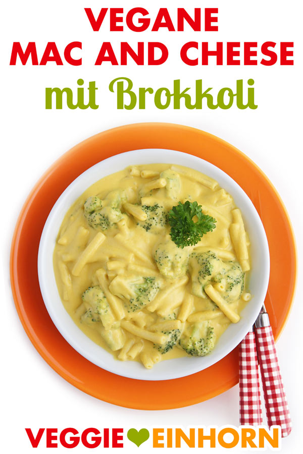 Vegan Mac and Cheese Rezept mit Brokkoli
