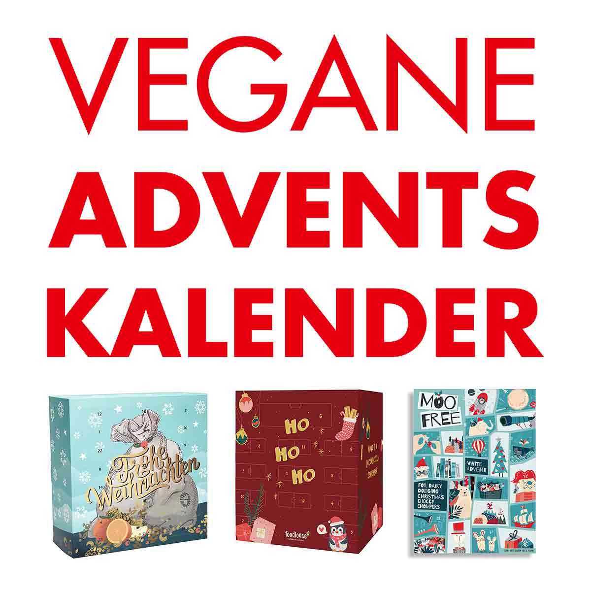 Vegane Adventskalender 2018