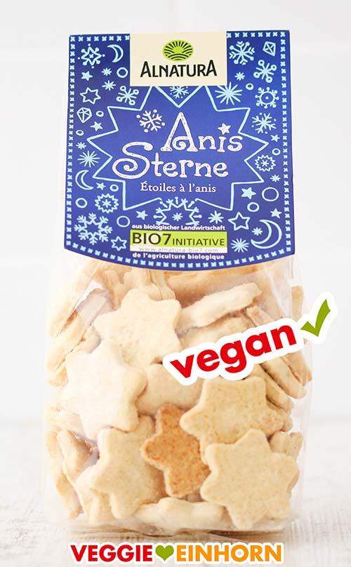 Vegane Anissterne von Alnatura
