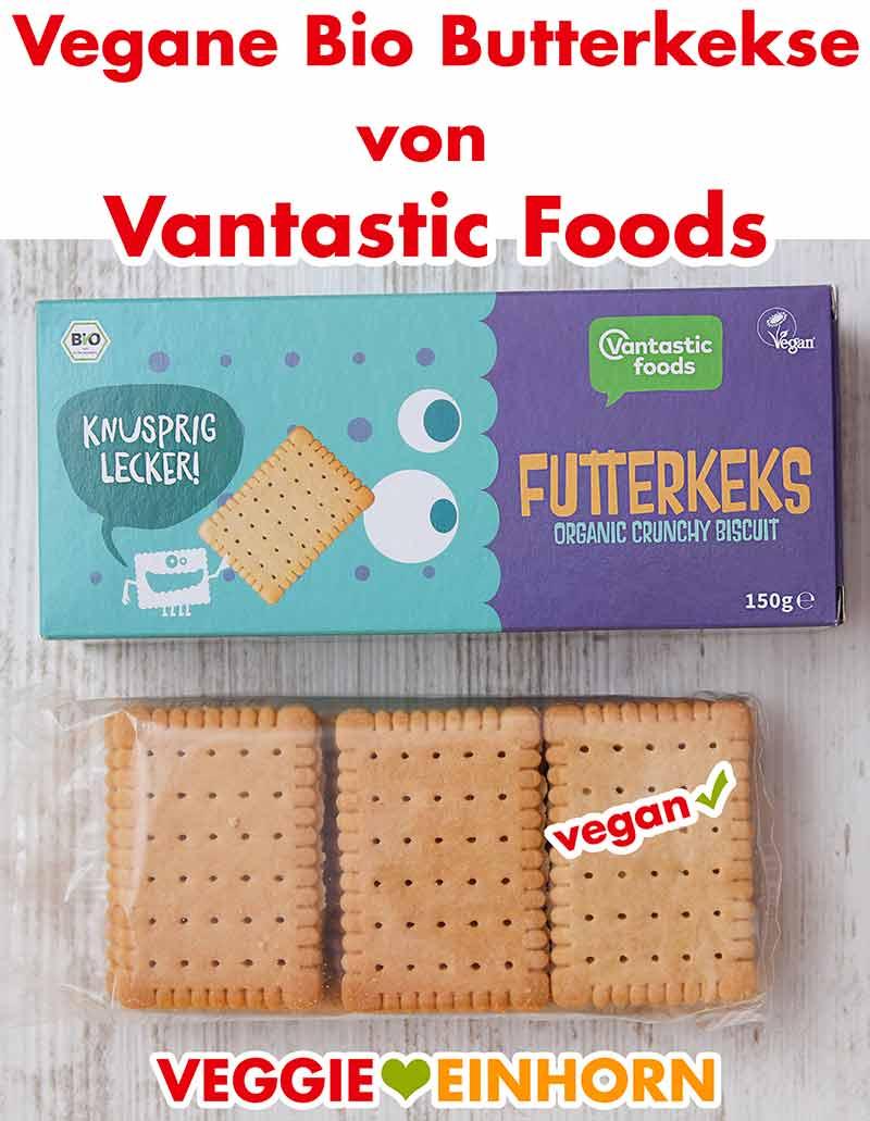 Vegane Butterkekse von Vantastic Foods