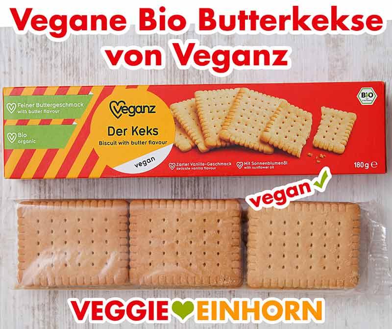 Vegane Bio Butterkekse von Veganz