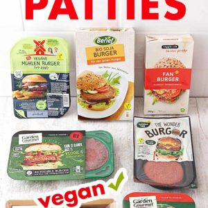 Vegane Burger Patties im Test