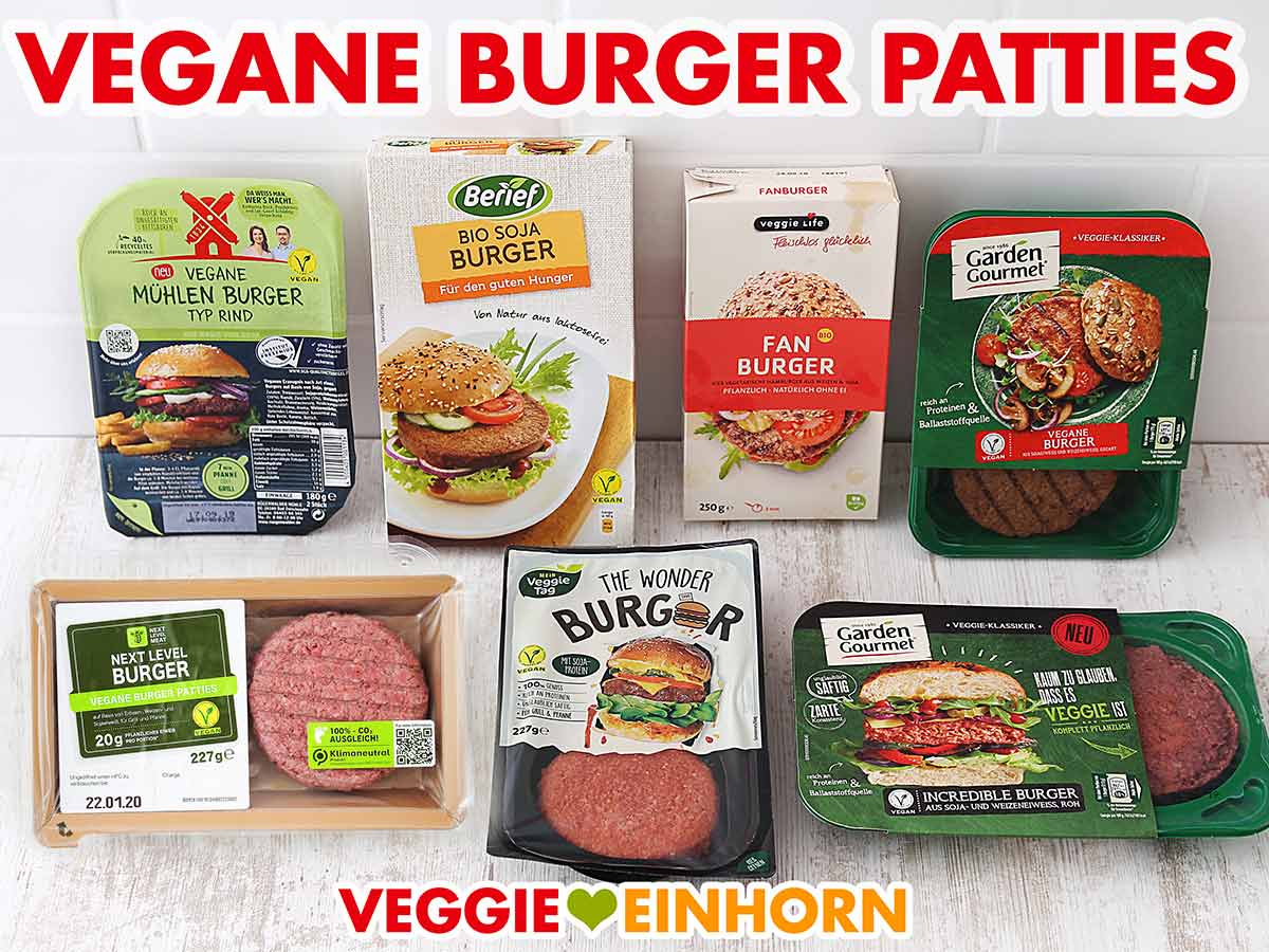 Vegane Burger Patties