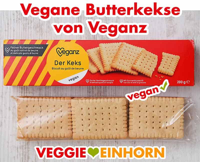 Vegane Butterkekse Veganz Der Keks