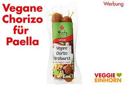 Vegane Chorizo für Paella