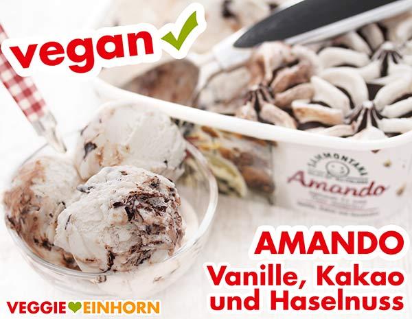 Vegane Eiscreme von Amando