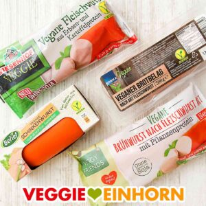 Vegane Fleischwurst
