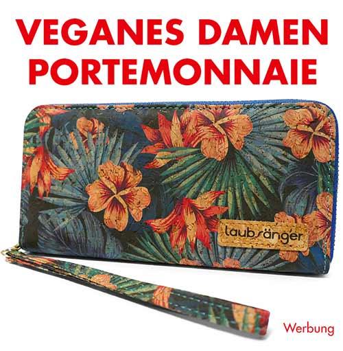 Veganes Portemonnaie für Damen