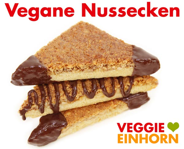 Vegane Nussecken Rezept