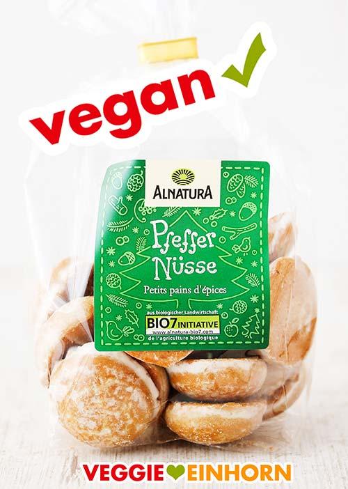 Vegane Pfeffernüsse ohne Gelatine