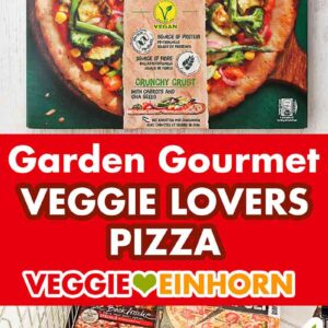 Vegane Pizza Garden Gourmet Veggie Lovers