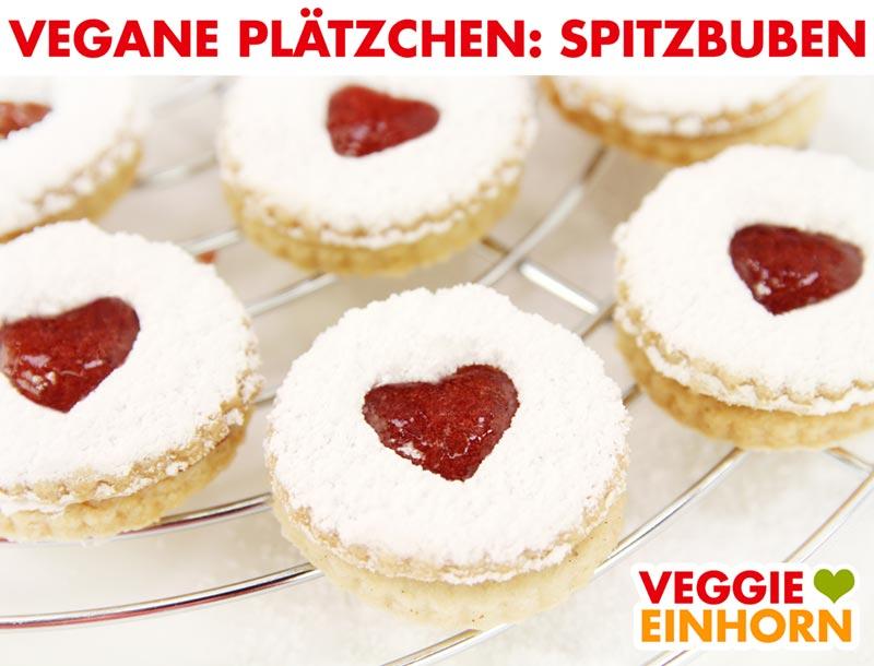 Vegane Plätzchen - Spitzbuben