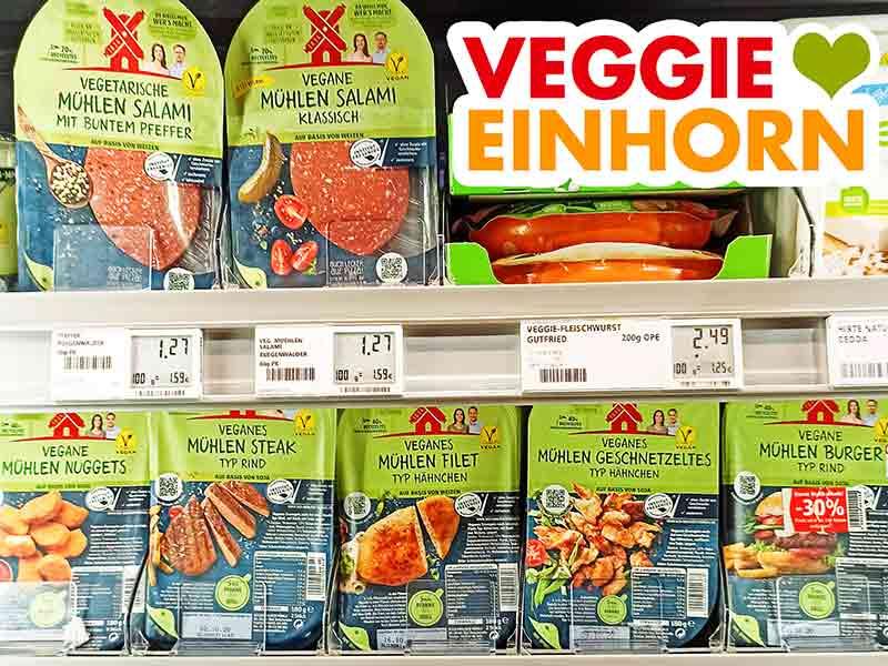 Rügenwalder Mühle Produkte im Supermarkt Regal