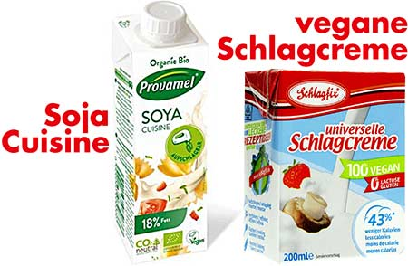 Vegane Sahne für Zitronenglasur