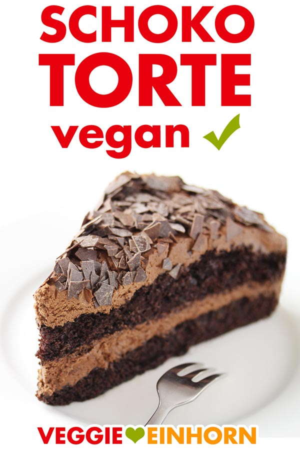 Vegane Schokotorte einfach