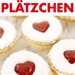Vegane Spitzbuben Plätzchen Pinterest