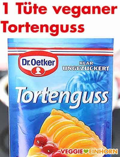 Veganer Tortenguss Klar ungezuckert von Dr. Oetker