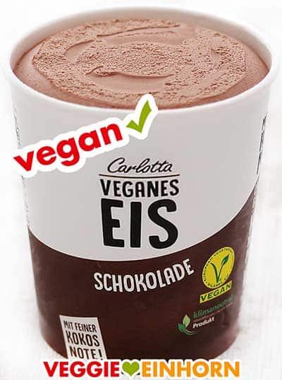 Veganes Schokoladeneis von Carlotta