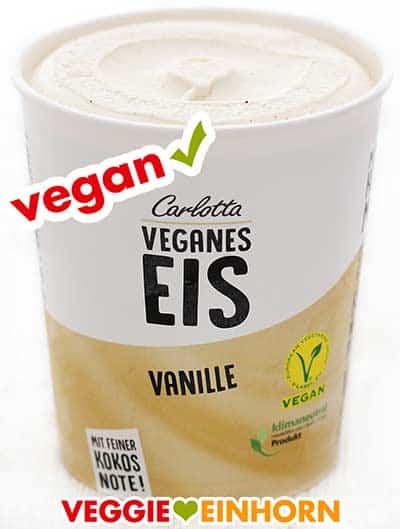 Veganes Vanilleeis von Carlotta