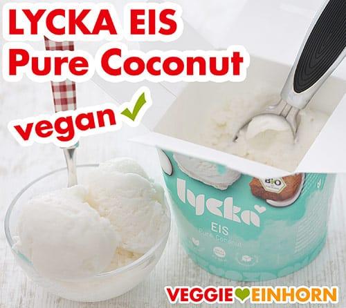 Veganes Kokos Eis von Lycka