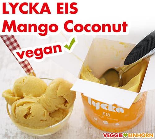 Lycka Eis Mango Coconut
