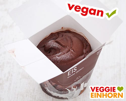 Veganes Eis von Lycka Schoko Coconut