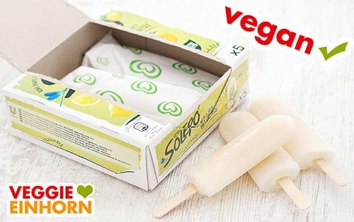 Veganes Eis Solero Lemon Bio