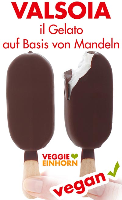 Veganes Eis von Valsoia aus Mandeln