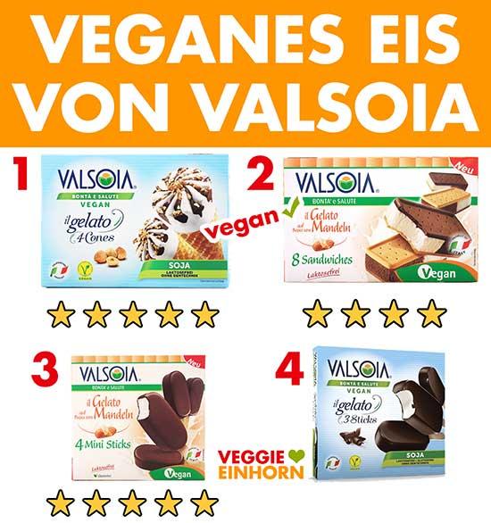 Veganes Eis von Valsoia