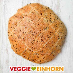 Veganes türkisches Fladenbrot