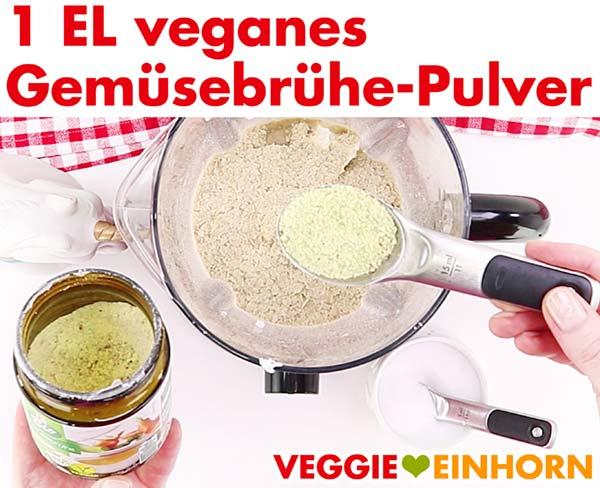 Veganes Gemüsebrühe-Pulver für Kartoffelgratin