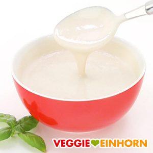 Veganes Joghurt Dressing mit Tahin