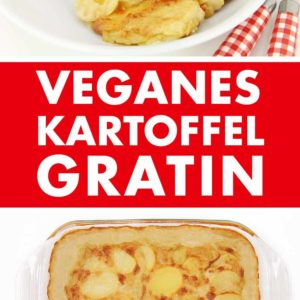 Veganes Kartoffelgratin Pinterest