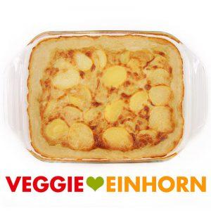 Veganes Kartoffelgratin einfach