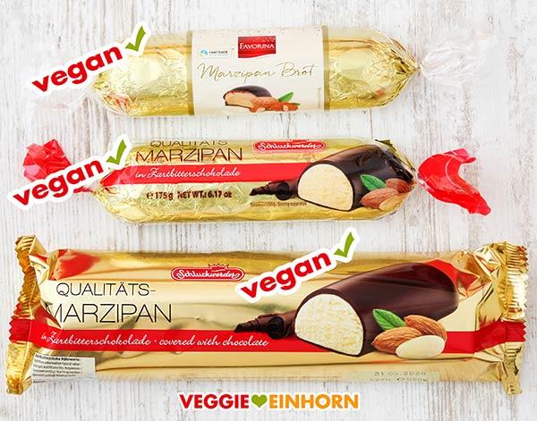 Veganes Marzipanbrot von Favorina und Schluckwerder